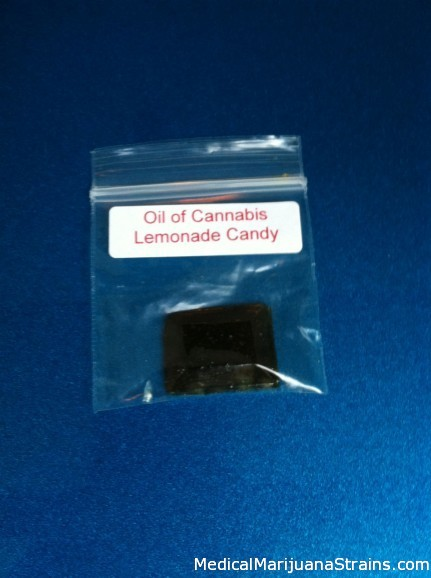 Oil of Cannabis Lemonade Candy
